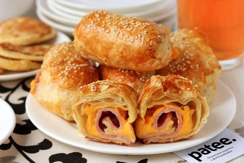 Закусочные пирожки с сыром