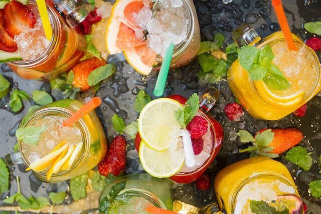 Рецепты летних напитков и коктейлей