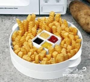 Как разогреть картошку фри в микроволновке. картофель фри в микроволновке