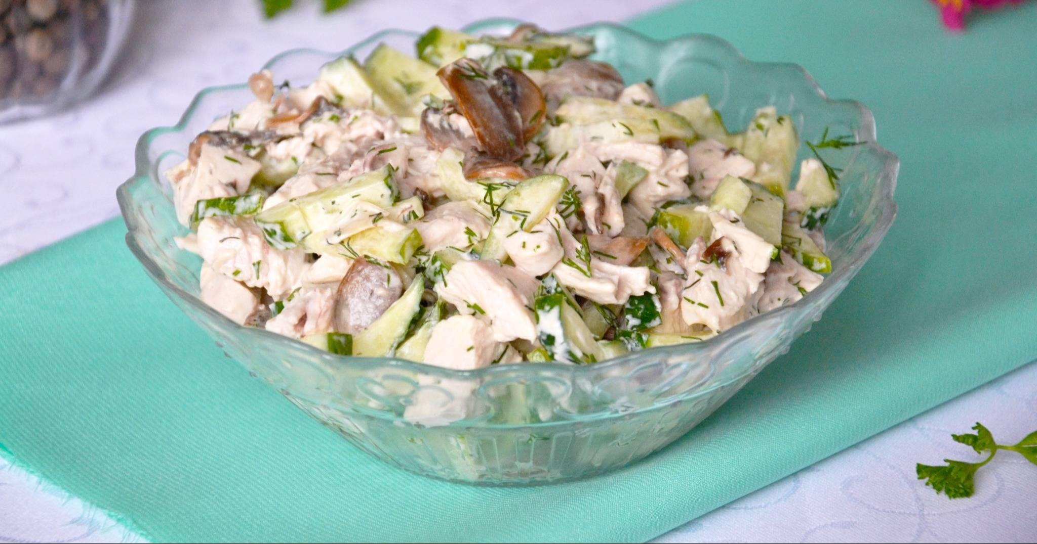 Безупречные рецепты салатов с грибами и кукурузой