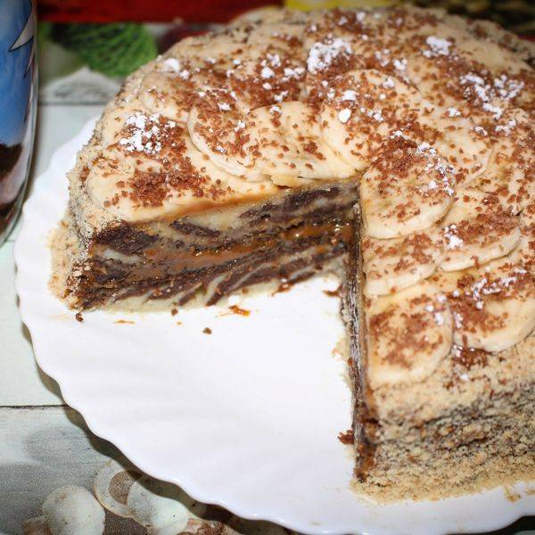 Пирог зебра - рецепт с фотографиями - patee. рецепты
