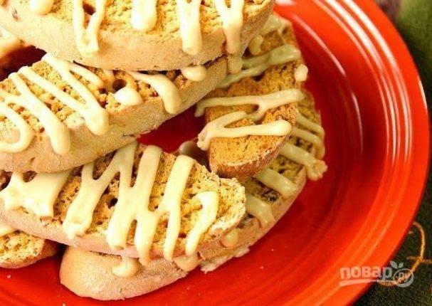 Готовим итальянское печенье бискотти и кантуччи