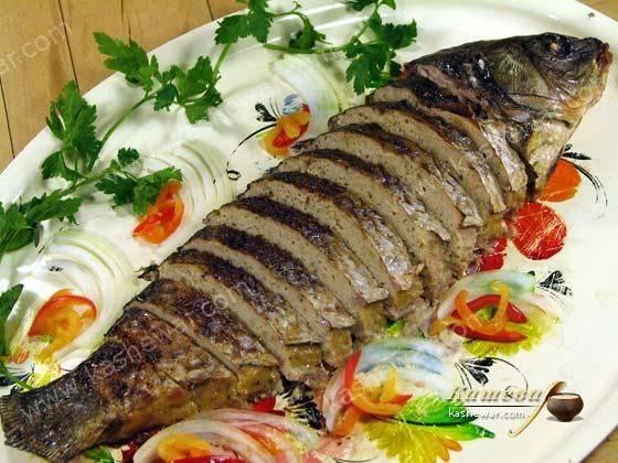 """Фаршированная рыба по-еврейски в тефтелях """"гефилте фиш"""""""