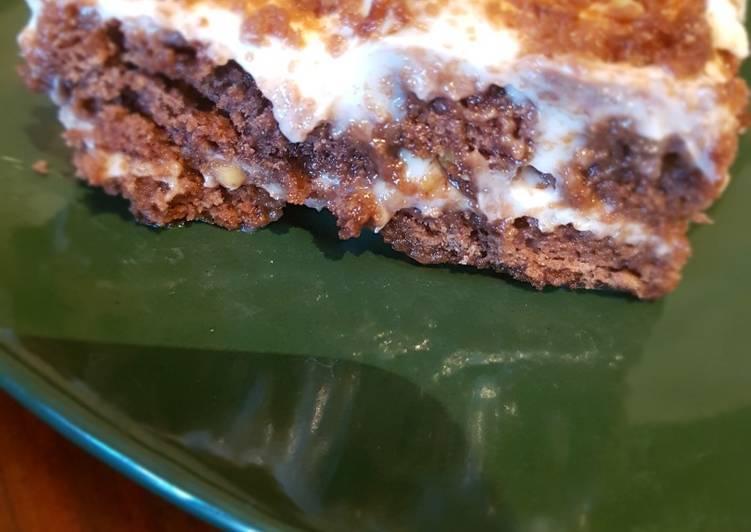 Торт без выпечки из пряников: простой и вкусный рецепт