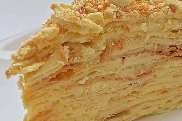 Наполеон торт рецепт классический с заварным кремом