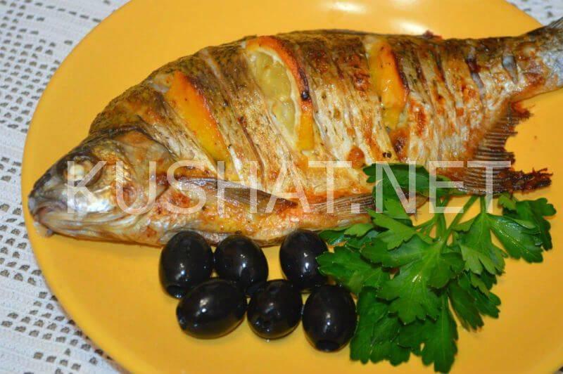Лещ, запеченный в духовке в майонезе с лимоном. пошаговый рецепт с фото • кушать нет