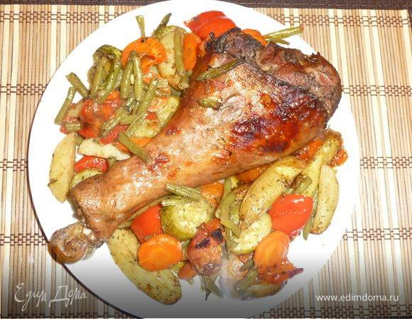 Индейка с овощами - 153 домашних вкусных рецепта приготовления