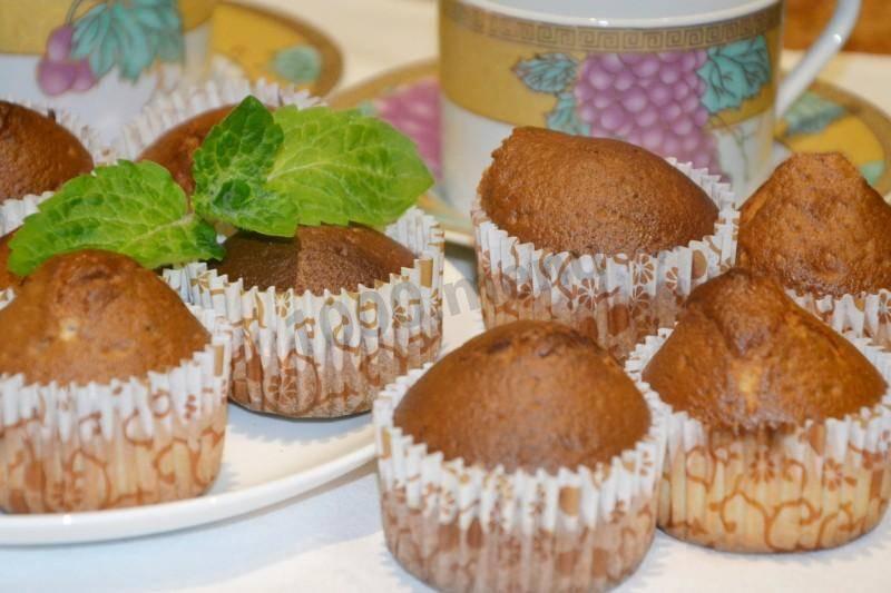 Кексы на сметане — два вида