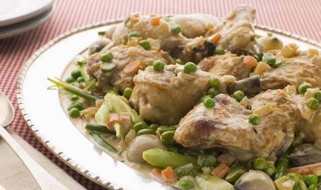 Фрикасе из курицы: классический рецепт и 6 способов приготовления