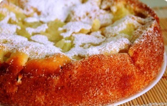 Пирожки с яблоками