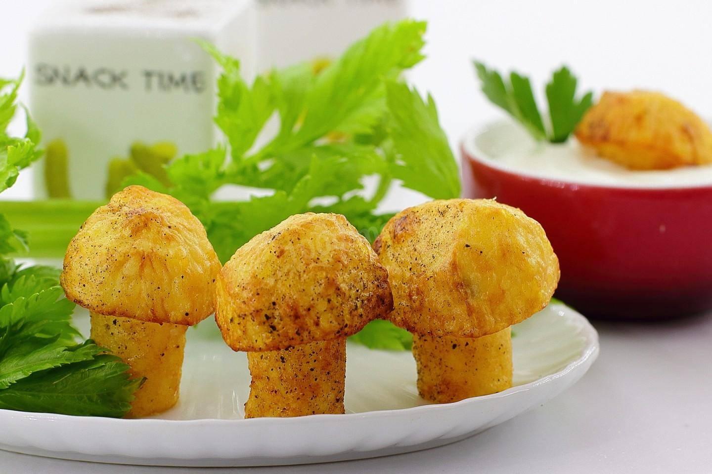 Грибочки из картофеля - рецепт с фотографиями - patee. рецепты