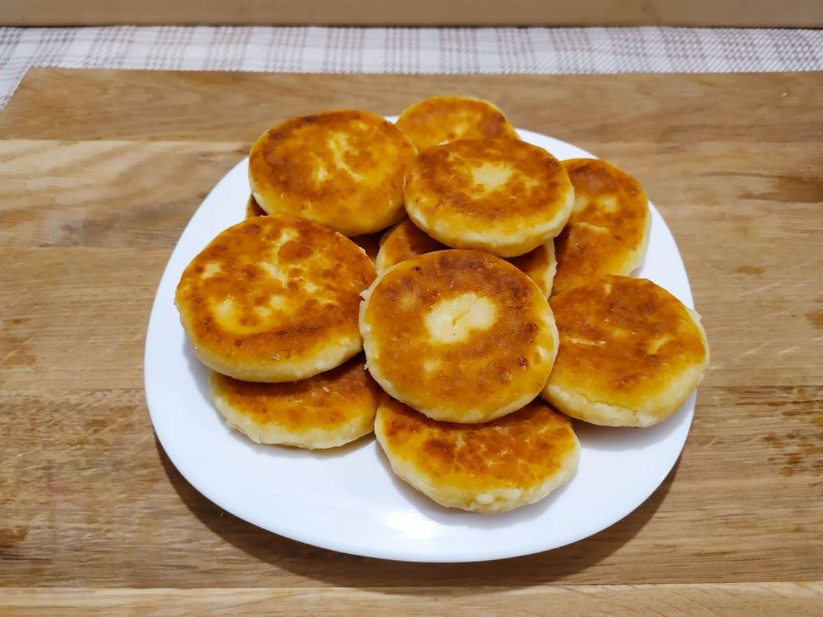 Рецепты апельсиновые сырники