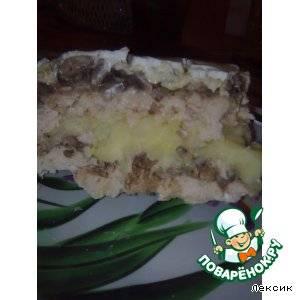 Как приготовить картофельную запеканку с грибами в духовке по пошаговому рецепту с фото