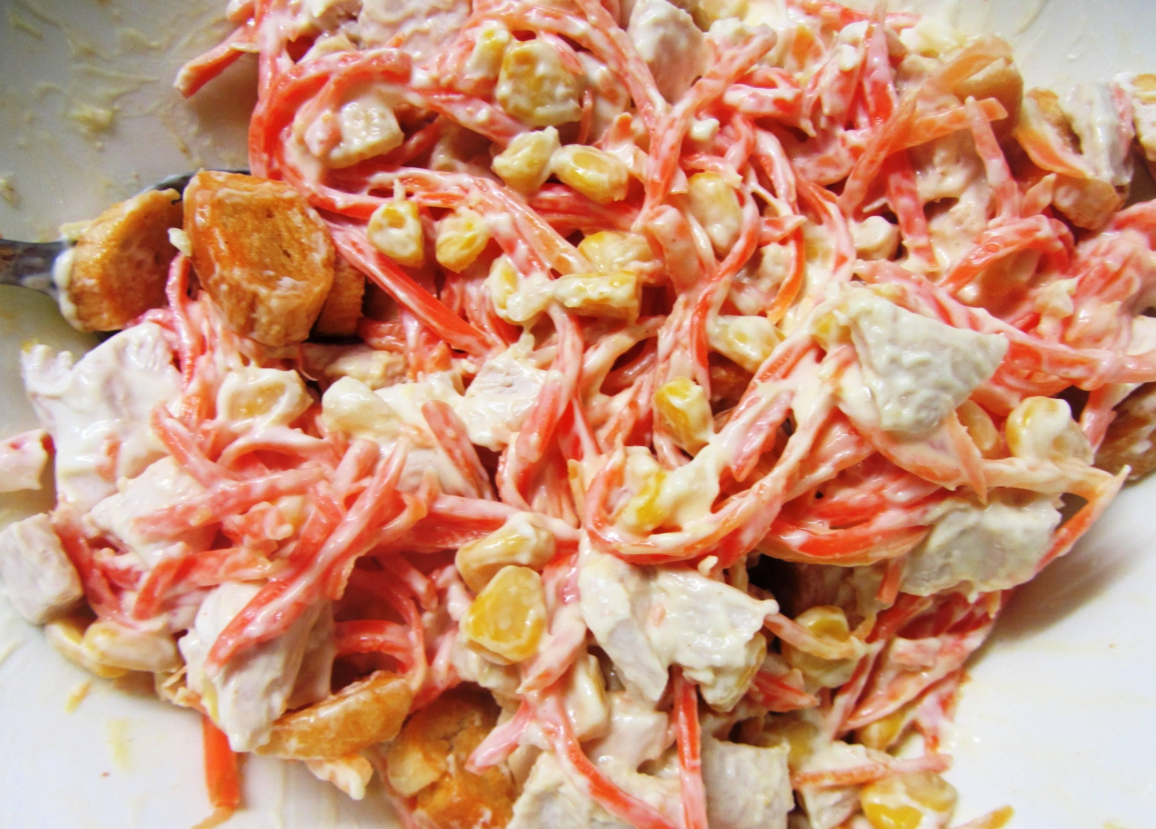 Салат с фасолью и морковкой по-корейски - 6 пошаговых фото в рецепте