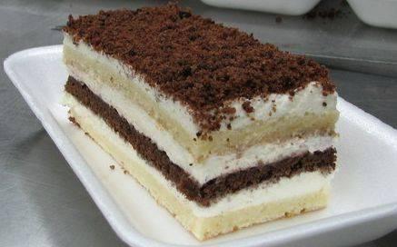 """Миндально-шоколадный торт """"белоснежка"""""""