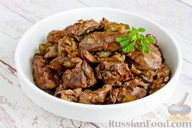 Куриная печень с луком — очень вкусное блюдо для хорошего обеда