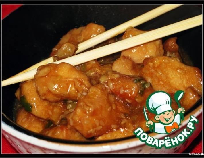 Что быстро и вкусно приготовить из курицы с кунжутом