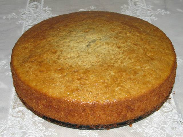 Бисквит и секрет его приготовления