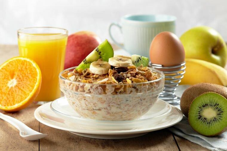 Правильный завтрак для похудения