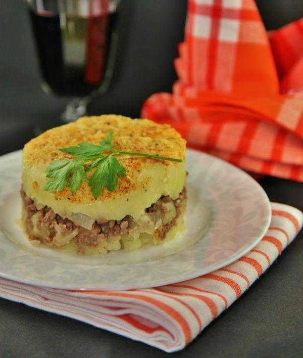 """Картофельная запеканка с мясом """"Союзпечать"""""""