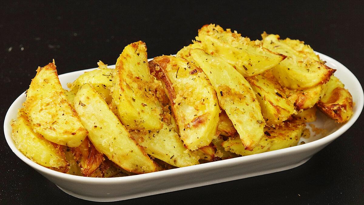 Картофель в хрустящей панировке - запись пользователя вера (suhanova-vera) в сообществе кулинарное сообщество в категории блюда из картофеля - babyblog.ru