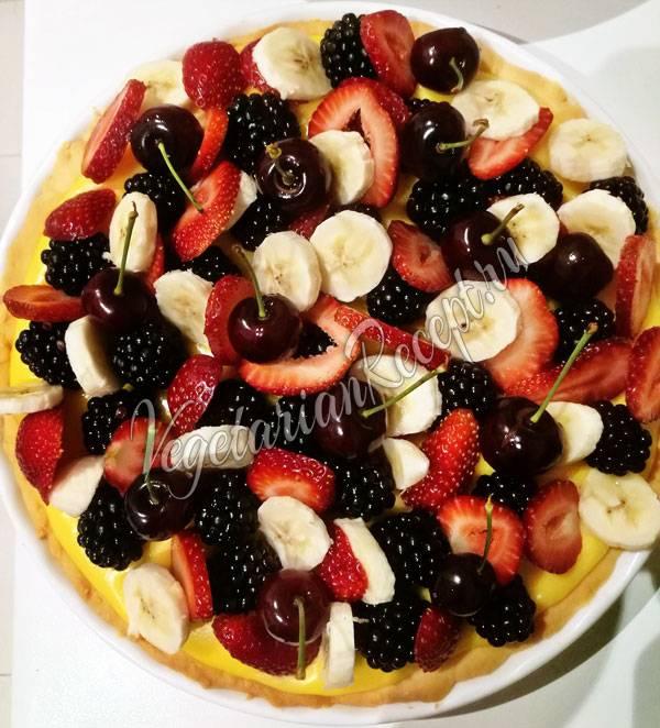 Молочно-ягодный десерт вкус лета