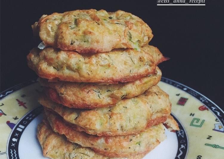 Оладьи из цуккини - простой и быстрый рецепт | cookingtime.ru