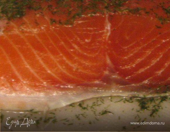 Идеальный способ засолки красной рыбы