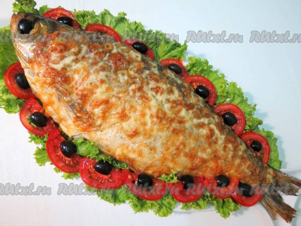Толстолобик в духовке в фольге. пошаговый рецепт с фото