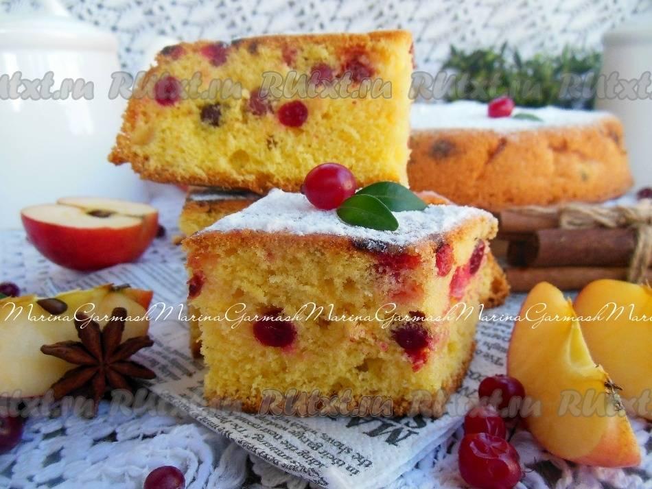 Пирог из творожного теста с брусникой: дневник группы «удовольствие на кухне»: группы - женская социальная сеть myjulia.ru