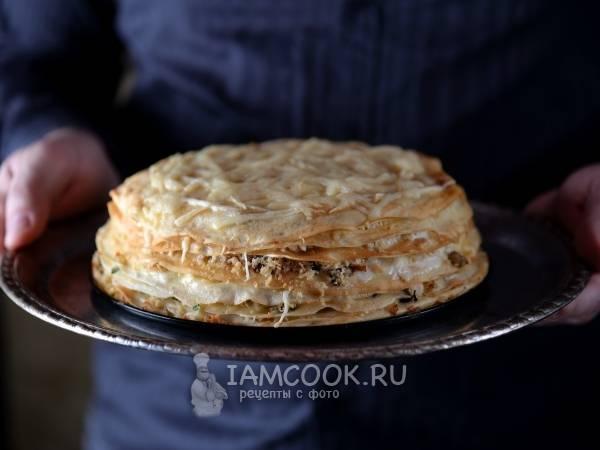 Грибная лазанья с грибами — 7 домашних вкусных рецептов