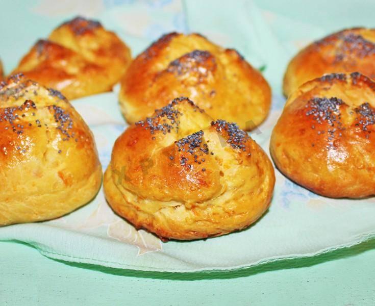 Постные овсяно-ржаные булочки
