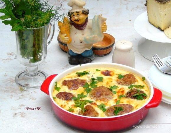 Фрикадельки в сливочно-сырном соусе - 11 пошаговых фото в рецепте