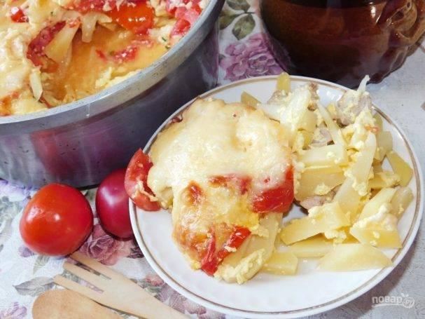 Заливной пирог с яйцом и зеленым луком — 7 рецептов