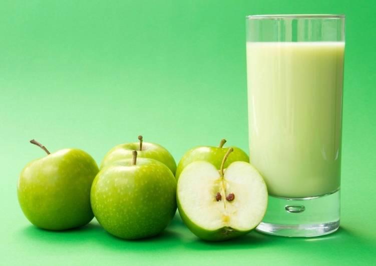 Яблочно сельдереевый сок