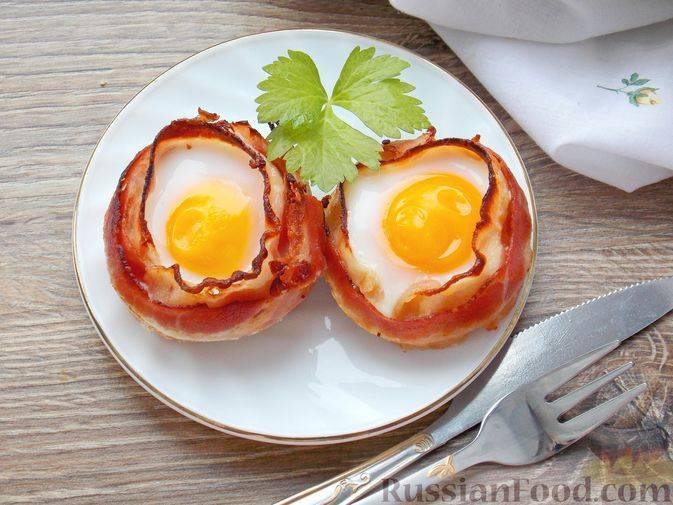 Яйцо в корзиночке