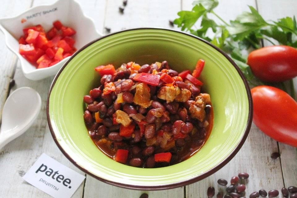 Рецепт вкусной фасоли с овощами. фасоль, тушеная с овощами