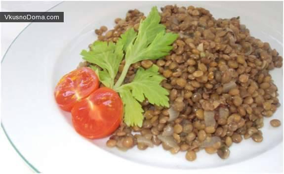 Как просто и вкусно приготовить кашу из чечевицы по пошаговому рецепту с фото
