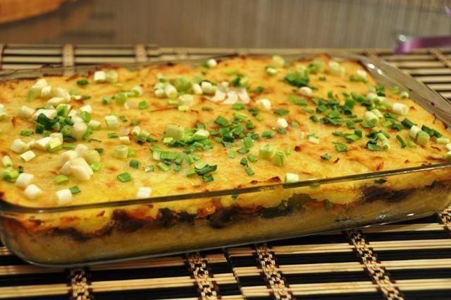 Картофельная запеканка с курицей рецепты