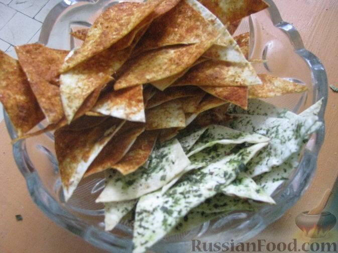 Как сделать чипсы из лаваша