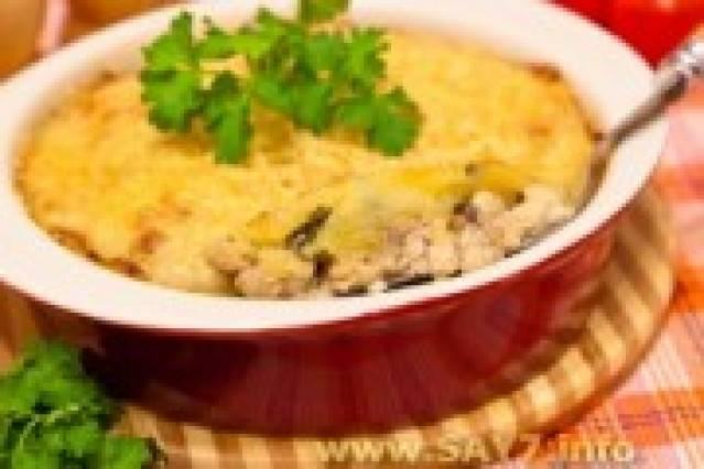 Картофельная запеканка с грибами - рецепты с курицей, мясом, сыром и овощами