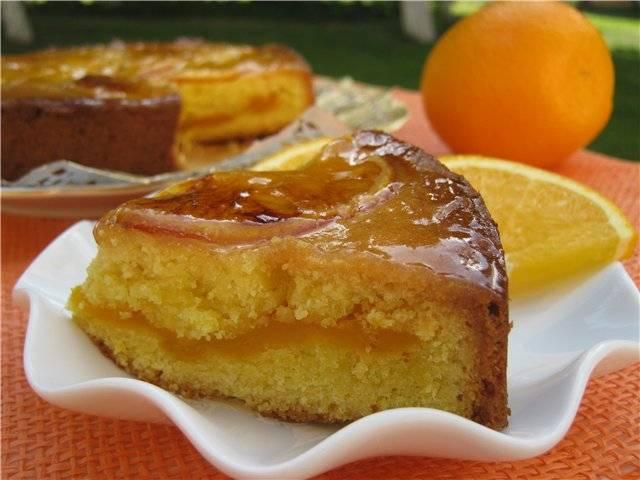 Рождественский апельсиновый пирог
