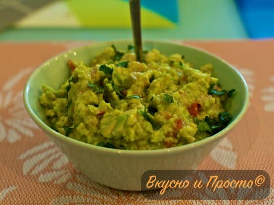 Классический рецепт гуакамоле с авокадо
