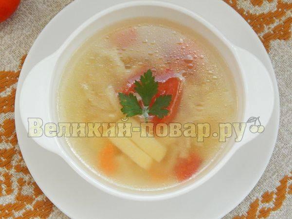 Суп-лапша - рецепты