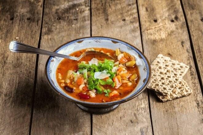 Суп минестроне: рецепт приготовления