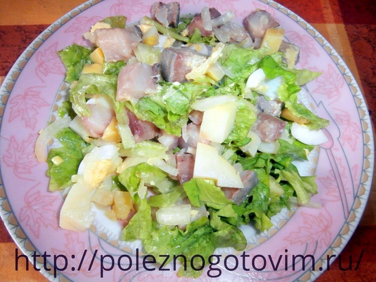 Легкие и вкусные салаты