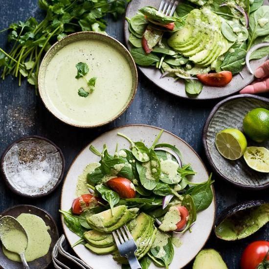Салат со шпинатом для детей (от 3 лет)
