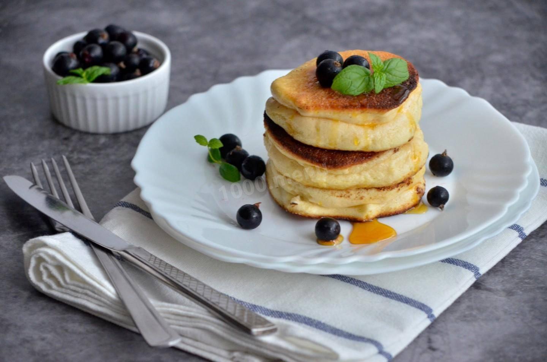 Панкейки на кефире — 6 рецептов приготовления