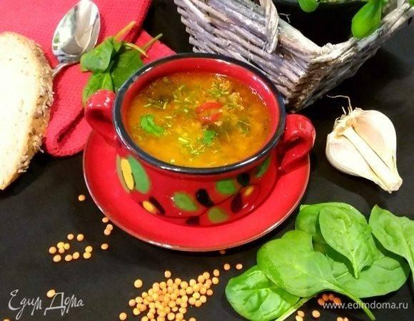 Суп из чечевицы: рецепты
