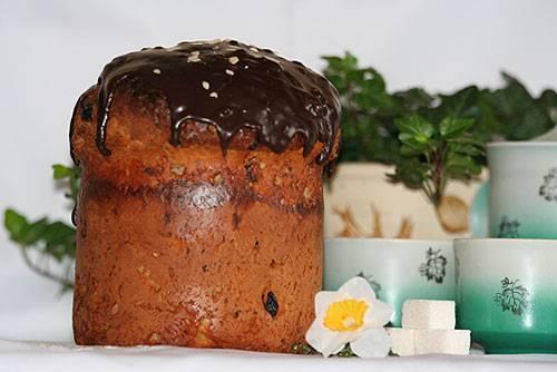 Пасхальный кулич с изюмом - 5 простых и вкусных рецептов с фото пошагово